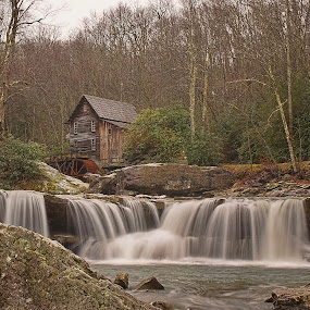 by Bud Schrader - Landscapes Waterscapes ( waterfalls, west va )