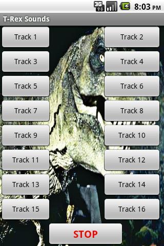 【免費娛樂App】T-REX恐龍的聲音-APP點子