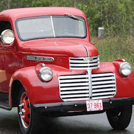 Antique Truck by Ernie Easter - Transportation Automobiles