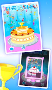 Cake Maker Kids - Cooking Game APK for Bluestacks
