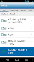 Screenshot of Lycamobile - Beltegoed