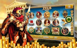 Screenshot of Zeus Free Slot Machine Pokies