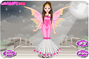 Screenshot of Cute Angel Dress Up