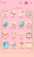 Screenshot of Butterflyfairy GOLauncherTheme