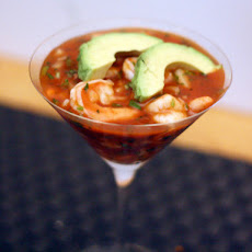 Dinner Tonight: Mexican-Style Shrimp Cocktail (Coctel de Camarones)