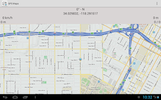 Screenshot of GPS Maps