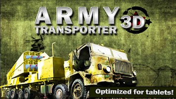 Screenshot of ARMY TRANSPORTER 3D