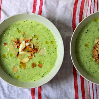 Cucumber Soup Almonds Recipes