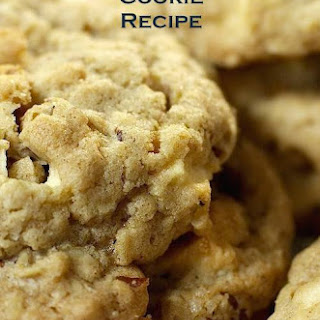 Apple Crisp Oatmeal Cookies