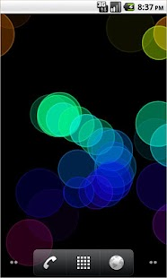 Bokeh Live Wallpaper FREE - screenshot