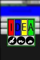 Screenshot of IDEAdna