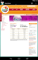 Screenshot of Florida Lottery