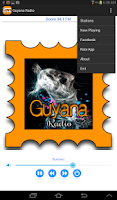 Screenshot of Guyana Radio