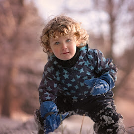 Last Snow by Dominic Lemoine Photography - Babies & Children Child Portraits