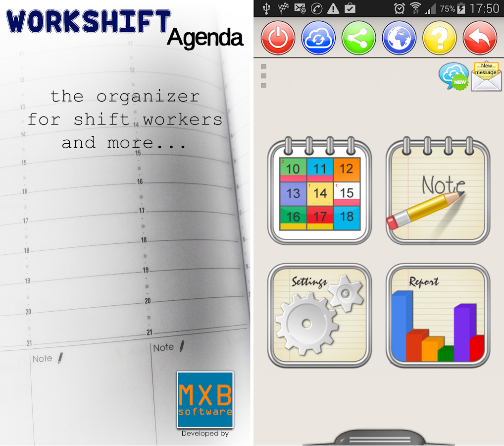 WorkShift Agenda Screenshot 0