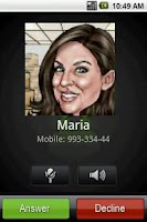 Screenshot of Fake Call maker lite