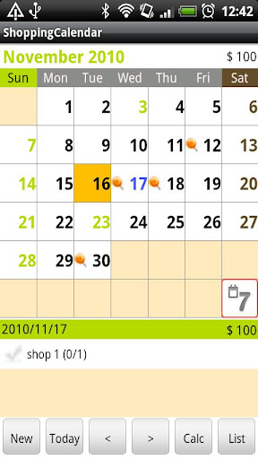 ShoppingCalendar免費