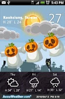 Screenshot of 9s-Weather Theme+(Halloween)