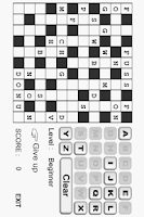 Screenshot of Crossword Free