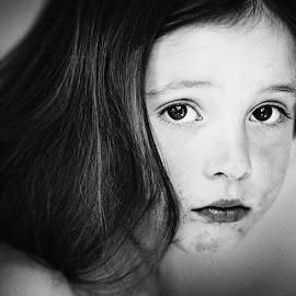 Hey You by Michal Mierzejewski - Babies & Children Child Portraits ( natalia, portret, mierzejewski, children, child portrait, children candids, werol, people, portrait, child, sight, ludzie, michal,  )
