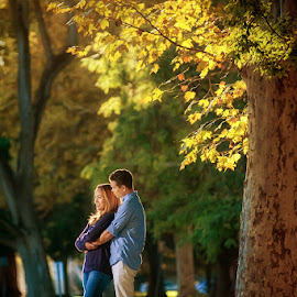 Fall by Cesar Palima - People Couples