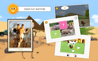 Screenshot of Animals: educational kids game