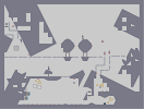 Thumbnail of the map 'cute-looking thingies with raised eyebrows.'