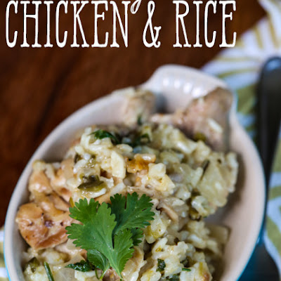 Green Chile Chicken & Rice