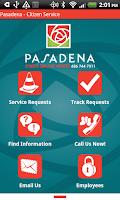 Screenshot of Pasadena - Citizen Service