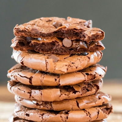 Flourless Fudge Cookies
