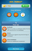 Screenshot of Box Pursuit Trivia Questions