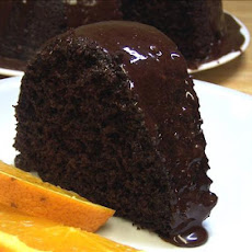 Chocolate-Orange Truffle Cake