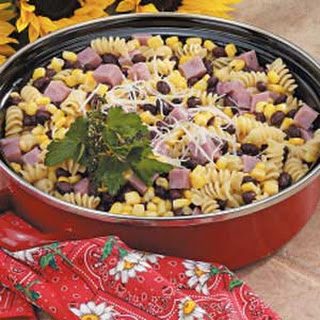 Bean and Ham Pasta