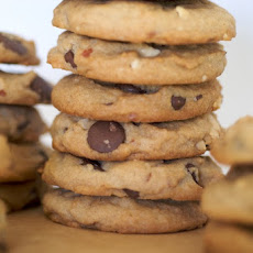 Chunky Peanut, Chocolate, and Cinnamon Cookies