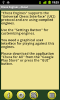 Screenshot of Chess Engines