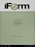 Screenshot of iForm