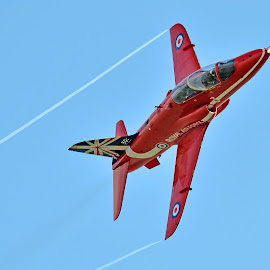 Red Arrow by Mark Bond - Transportation Airplanes ( red arrows )