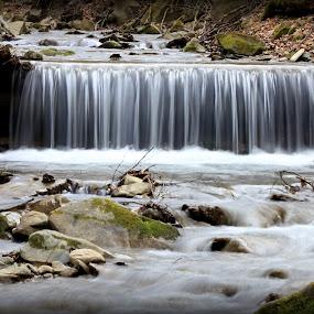 waterfall by Cosmin Popa-Gorjanu - Nature Up Close Water ( waterfall )