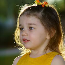 Leaving the Park by Alan Chapman - Babies & Children Children Candids ( angel, local park,  )