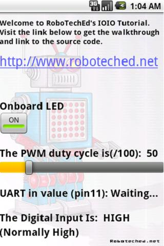 RoboTechEd IOIO Tutorial