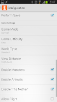 Screenshot of McMyAdmin 2 Mobile