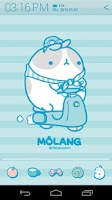Screenshot of Molang IceCream Blue Atom