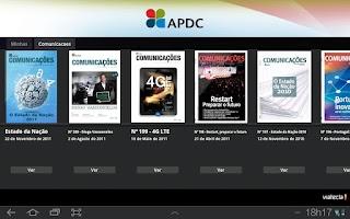 Screenshot of Comunicações