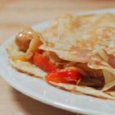 Sweet And Sour Chicken Stuffed Pancakes