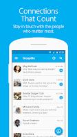 Screenshot of GroupMe