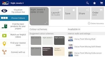 Screenshot of Dulux Visualizer