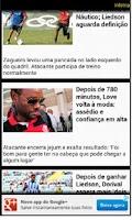 Screenshot of Flamengo app não oficial
