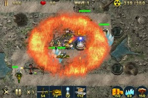 Screenshot of Tank Defense Games