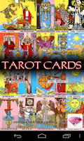 Screenshot of Tarot Cards and Horoscope