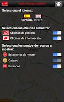 Screenshot of CRTM - Tarjeta TP